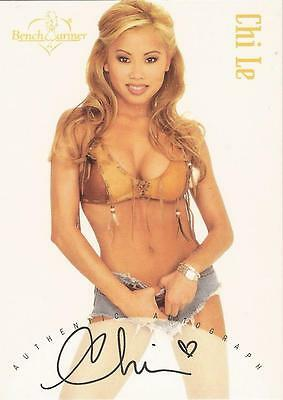 "Benchwarmer 2002 - ""Chi Le"" Auto / Autograph Card"