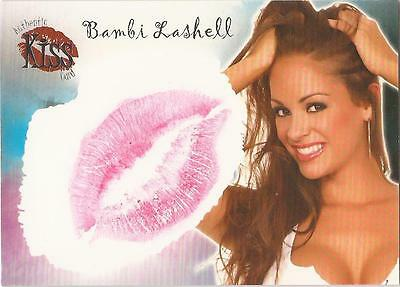 "Benchwarmer 2007 Series 1 - 16 of 16 ""Bambi Lashell"" Kiss Card"