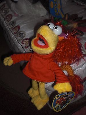 Jim Henson Fraggle Rock peluche Rosi (Red) Nuevo. Sababa Toys