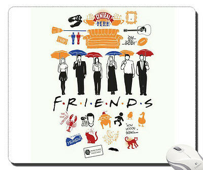 Hot Quotes Friends Tv Show mousepad mouse pad laptop notebook pc