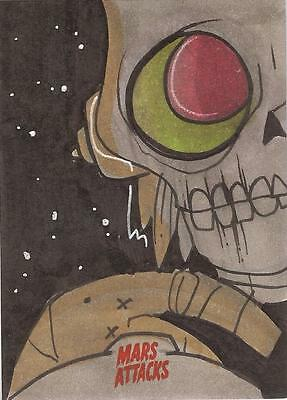 Mars Attacks Invasion - Chris Hamer Urbnpop Sketch Card