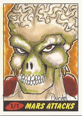Mars Attacks Heritage - Jason Durden Sketch Card