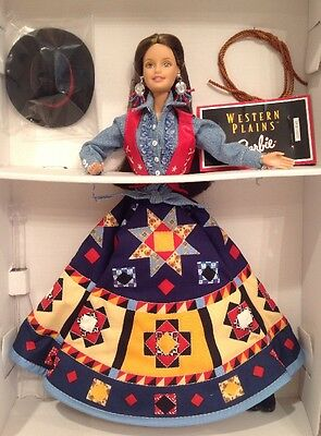 Western Plains Barbie Collectors Edition 1998 Lifestyles Of The West NIB