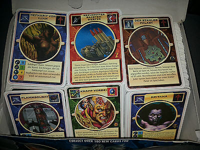 Doomtrooper Huge Lot In German Language 500+ Cards!! Mutant Chronicles