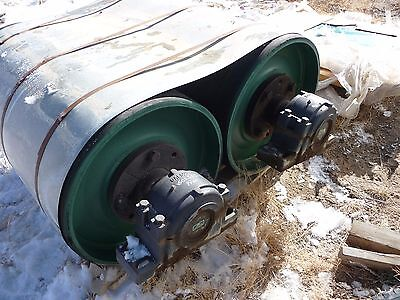 conveyor drum pulley with bearings  Precision Pulley and Idler 602555-001