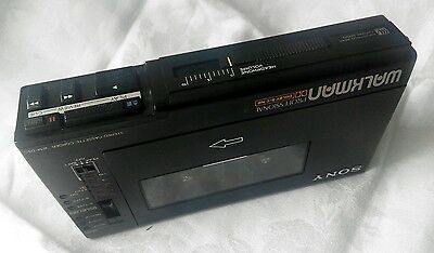 Sony Walkman Cassette Player Recorder Professional WM-D6C DC6