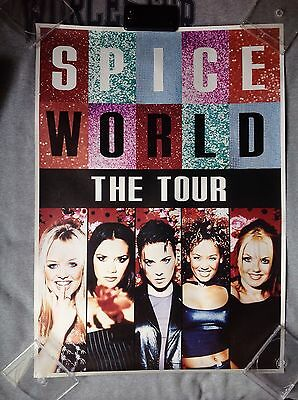 Spice Girls Spice World - The Tour Poster