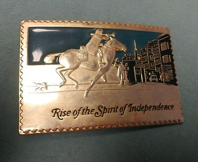 Rise of the Spirit of Independence Belt Buckle