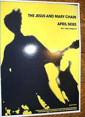 Jesus and Mary Chain April Skies Poster