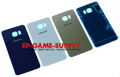 Battery Cover Back Glass Housing For Samsung Galaxy S6 edge Plus