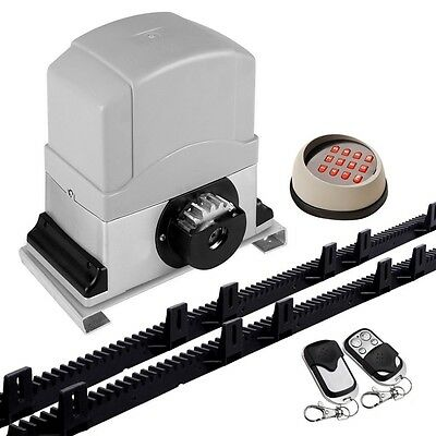 550W Automatic Sliding Gate Opener  - Max 1800KG - 6M with Keypad