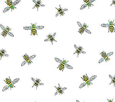 The Bee's Knees Gift Wrap Tissue Paper- Printed Bee- 10 Patterned Sheets