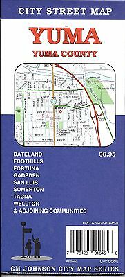 City Street Map of Yuma & Yuma County, Arizona, by GMJ Maps
