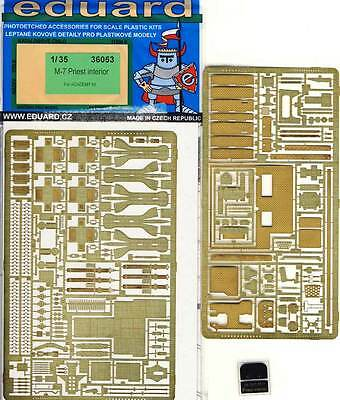 eduard M-7 Priest interior for Academy model kit Etched parts 1:35 set NIP
