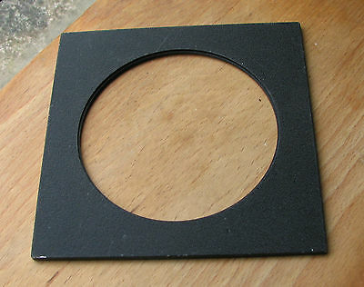 genuine Sinar F & P  lens board panel with large 102.4mm hole