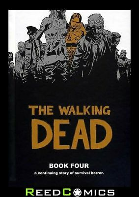 THE WALKING DEAD VOLUME 4 HARDCOVER New Hardback Collects #37-48 Robert Kirkham