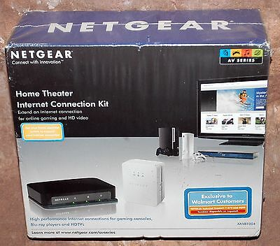 *new* Netgear Xavb1004-100Nas Home Theater Internet Connection Kit