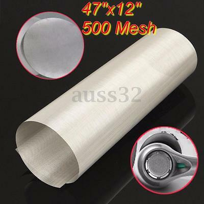 47x12'' 500 Mesh 25 Micron Stainless Steel Rosin Bag Pouch Wire Cloth Screen
