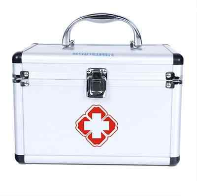 Mobile Medical Kit transport First Aid Kit Survival Emergency Aluminum case