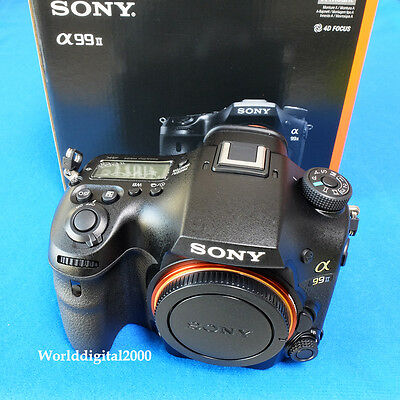 SONY A99 Mark II A99 II ILCA-99M2 Only Body A-Mount Full Frame 4K  13 Languages