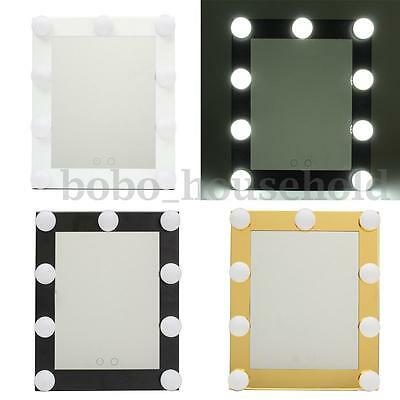 Christmas Vanity Lighted Hollywood Makeup Mirror with Dimmer Stage Beauty Touch