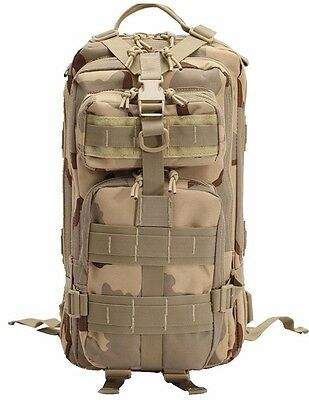 Sport Outdoor Men Khaki Tactical Military Rucksacks Camping Backpack Durable Bag