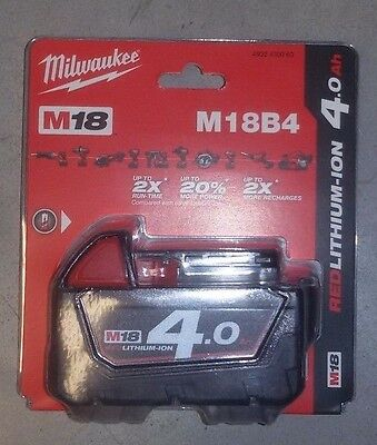 Batteria M 18 4 Amp Milwaukee