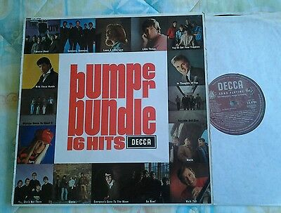 Bumper Bundle Of 16 Hits/Zombies Them Moodys.1965 UK Decca Mono Original LP.