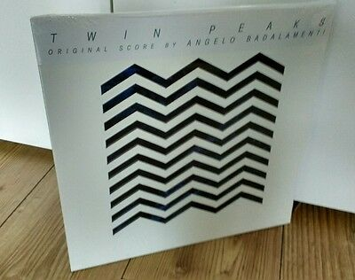 Twin Peaks limited edition vinyl. Angelo Badalamenti. New and sealed. Unopened.