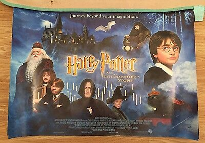 Harry Potter And The Philosophers Stone Promotional Movie Poster