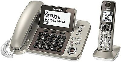 Panasonic Corded / Cordless Wireless Dect 6.0 One Handset Phone Telephone New