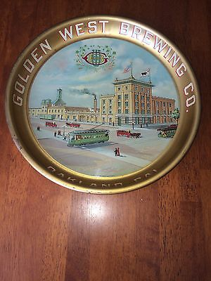 Golden West Brewing  Beer Tray Oakland California Pre Prohibition