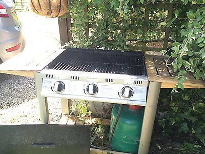 3-burner Barbecue, with Bbq Gas Cylinder