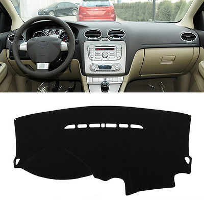 Fit For 2005-2011 Ford Focus Mk2 Dashboard Cover Dashmat Dash Mat Pad Sun Shade