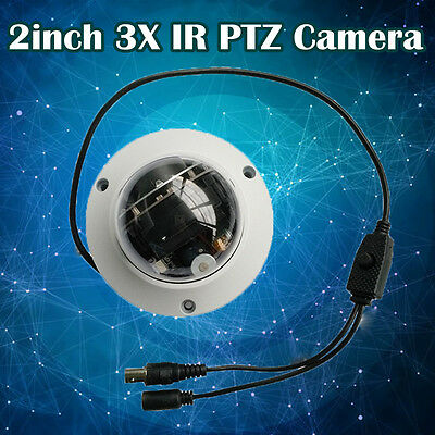 2MP Mini PTZ 3x Optics Zoom PTZ Camera IR IP66 1080P 30FPS Security Camera