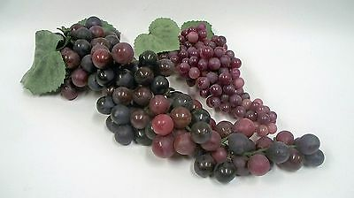Realistic Artificial Purple Grapes Staging Home Decor