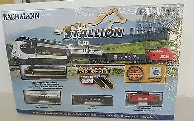 Bachmann Stallion Ez Track N Scale Electric Train Locomotive Nib Caboose