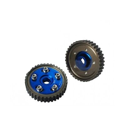 Pair of adjustable pulleys for HONDA CIVIC and INTEGRA D16A