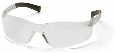6 Pair 1700Rt Series Clear Lens Safety Glasses