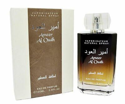 New, Lattafa Ameer Al Oudh EDP Perfumes For Men and Women 100 ml with deodrant