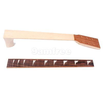 Mahogany Guitar Neck And Fretboard Fingerboard For 41'' Acoustic Guitars