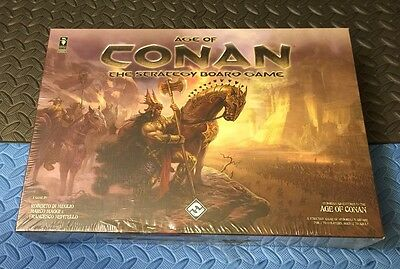Age Of Conan The Strategy Board Game New Sealed
