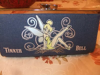 Disney Tinkerbell Coin Wallet Denim New with tag