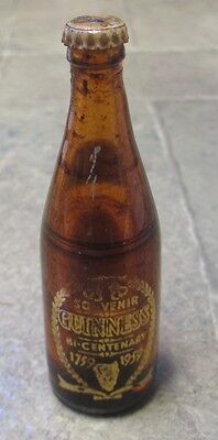 Original 1959 Guinness Beer 200th Anniversary Mini Bottle Paper Labels