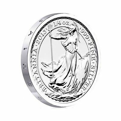 2013 Royal British Mint - S.S. Gairsoppa Britannia - 1/4 oz Silver Coin
