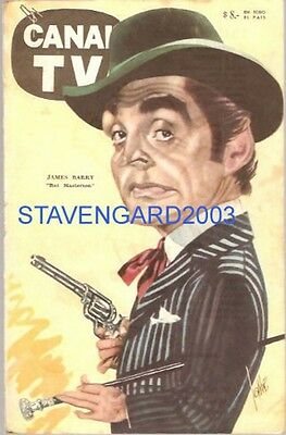JAMES BARRY CARICATURE  Argentina  poster 1960´s