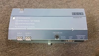 SOLA POWER SUPPLY SDU 500 120Vac 500VA/300W SDU500 NICE CONDITION