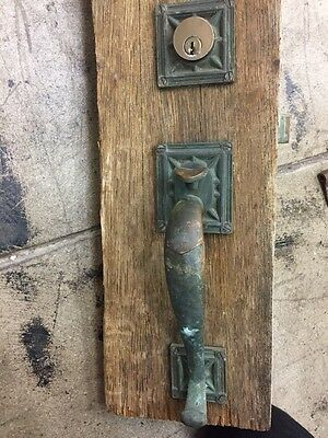 1920's Arts And Crafts Craftsman Style Front Door Hardware