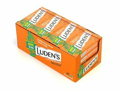 Luden's Menthol 20 Throat Drops 20 Count