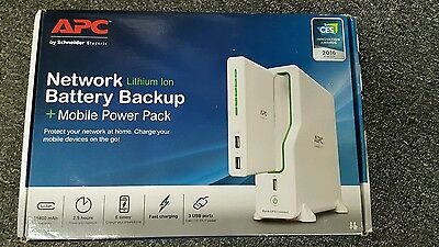 Apc By Schneider Electric. Network Battery Backup. Lithium Ion.